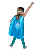 Dreamy Dress Ups Super Hero Cape & Mask Snow Flake Photo