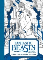 Fantastic Beasts and Where to Find Them: A Book of 20 Postcards to Colour Photo