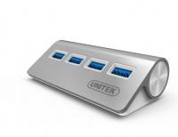Unitek USB 3.0 4-Port Aluminium Hub Photo