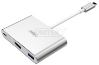 Unitek USB 3C 1-P USB 3.0 2-P USB 2.0 HDMI Photo