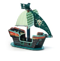 Djeco pop up Pirate Boat 3D Photo