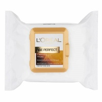 Loreal Paris Age Perfect Smoothing Cleansing Wipes - 25 Sheets Photo