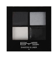 BYS Cosmetics Eyeshadow and Liner Palette Raven Nights - 3g Photo