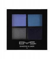 BYS Cosmetics Eyeshadow and Liner Palette Indigo Sky - 3g Photo