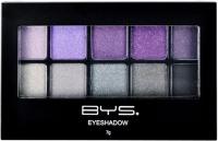 BYS Cosmetics 10 Palette Eyeshadow Glam Rock - 7g Photo