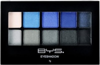 BYS Cosmetics 10 Palette Eyeshadow Denim in Distress - 7g Photo