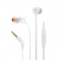 JBL T110 In Ear Headphone - White Photo
