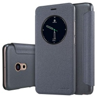 Nillkin Sparkle Leather Case for Meizu Pro 6 - Black Photo