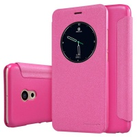 Nillkin Sparkle Leather Case for Meizu Pro 6 - Pink Photo