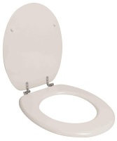 Wildberry - Toilet Seat - White Chrome Plated Butterfly Hinge Photo