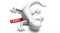 Air Freshener Gecko - Light Grey Photo