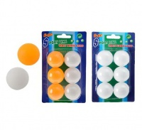 Bulk Pack 15 X Table Tennis Balls - Pack of 6 Photo