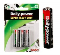 Bulk Pack 15 X Daily-Power Super Heavy Duty Battery - Size AAA Pack of 4 Photo