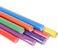 Bulk Pack 8 X Gift Wrap 70cm x 2m Solid Colours Photo