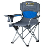 Oztrail Junior Deluxe Arm Chair - Blue Photo