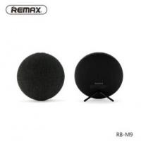 Remax Fabric Ultra Thin Portable Bluetooth Speaker RB-M9 - Black Photo