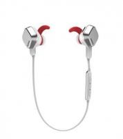 Remax BT 4.1 Unisex Sporty Bluetooth Earphones - Silver Photo