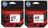 HP Ink Combo Pack Black 652 & Colour 652/HP652 OEM Photo