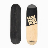 Bun&Bunee HAVMORFUN Deck - Black/Wood Photo