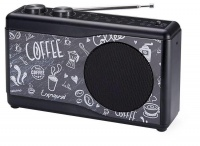 Portable Radio 'Coffee' - Silver Photo