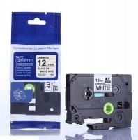 Brother Rappid TZ-231 Label Tape Cartridge - Laminated Black on White [8m Length] Photo