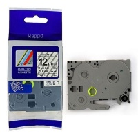 Brother Rappid TZ-131 Label Tape Cartridge - Laminated Black on Clear [8m Length] Photo