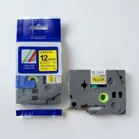 Brother Rappid TZ-631 Label Tape Cartridge - Laminated Black on Yellow Photo