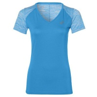 Women's ASICS Fuzex V-Neck Short Sleeve Top Photo