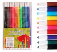 10 Piece Pencil Crayons - Pack of 3 Photo