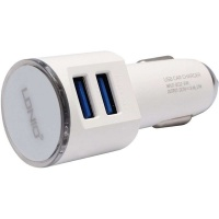 Ldnio Car Charger Dual Usb Port Output Photo