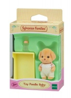 Sylvanian Families Toy Poodle Baby Photo
