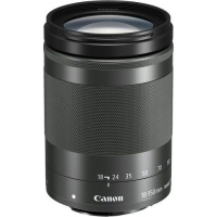 Canon 18-150mm f3.5-6.3 EF-M IS STM Lens - Black Photo