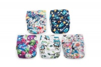 Fancypants All-in-One Cloth Nappy - Holiday Photo