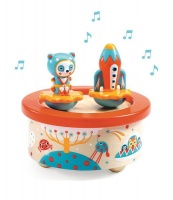 Djeco Magnetic musical box - Space Melody Photo