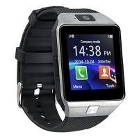 DZ09 Android Bluetooth Smart Watch Phone Camera & Sim Card Slot - Chrome Photo