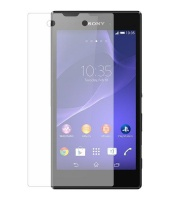 Sony Premium Anitishock Protector Tempered Glass For Xperia C3 Cellphone Cellphone Photo