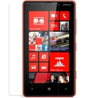 Nokia Premium Anitishock Protector Tempered Glass For Lumia 820 Cellphone Cellphone Photo