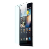 Premium Anitishock Protector Tempered Glass For Huawei Ascend P6 Cellphone Photo
