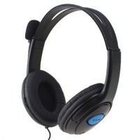 Gaming Headphones with Microphone - PS4 - Black Photo