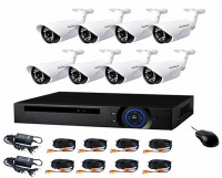 AHD CCTV Direct - 8 Channel cctv camera system - Full Kit Perfect security cameras with internet & phone viewing Photo
