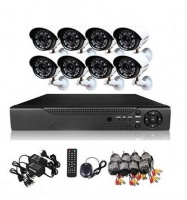 CCTV Direct - 8 Channel cctv camera system - Perfect security cameras with internet & phone viewing Photo