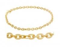 Art Jewellers 9Ct/925 Gold Fusion Ladies Fancy Bracelet - AH80BRSILSP-19 Photo