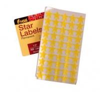Bulk Pack 8 x Self Adhesive Star Labels - 400 Labels Photo