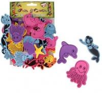 Bulk Pack 8 x Art & Craft Sea World Stickers Photo