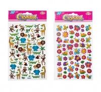 Bulk Pack 8 x Crystal Sticker - 50 Piece Assorted Photo