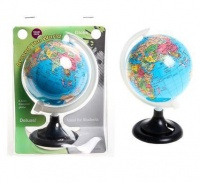 Bulk Pack 8 x World Globe Plastic Pencil Sharpener Photo