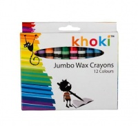 Bulk Pack 6 x Jumbo Size Wax Crayons - 12 Colours Photo