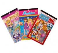 Bulk Pack 6 x Dress Up Sticker Book - Assorted Photo