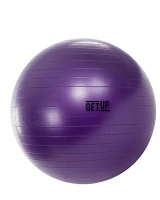 GetUp Beam 65cm Yoga Ball with Pump - Purple Photo
