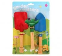 Bulk Pack 5 x Childs Garden Hand Tool Set 200mm - 3 Piece Set Photo